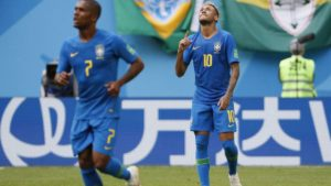 FIFA World Cup Brazil vs Costa Rica Eliminated, Brazil won by 2-0 Highlights