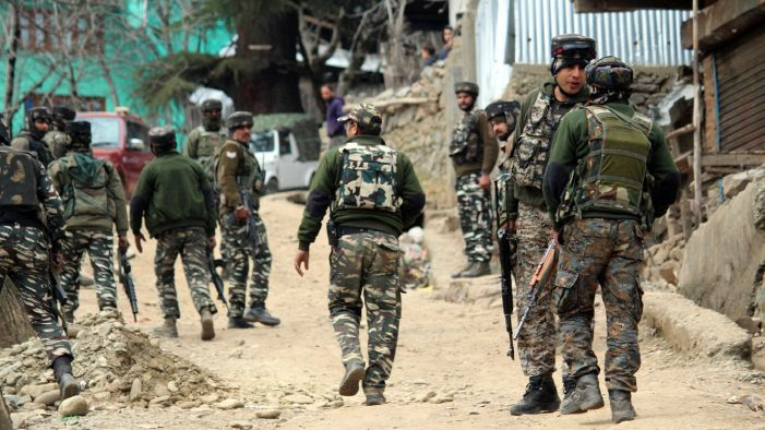 ISJK Chief among four militants Killed in encounter in Anantnag Kashmir Gunfight