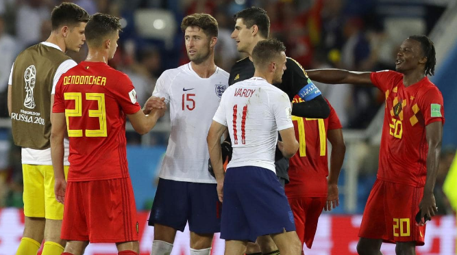 Belgium beat England by 2-0 World Cup Belgium third Position