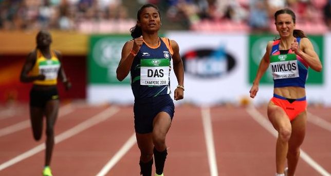 Hima das wins gold Medal in event at IAAF world U20 World Athletics