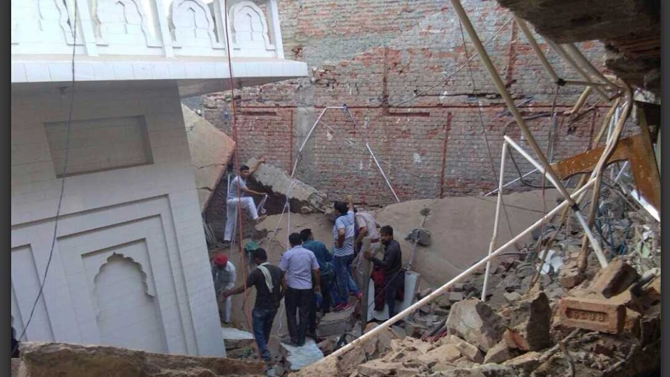 Roof Collapses near Dwaraka in Delhi, 2 Killed and 3 Injured