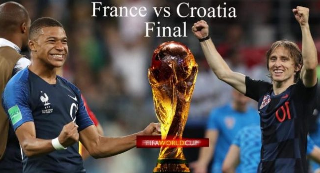 World Cup Final France vs Croatia Where to Watch, Live, Lineups, who will win
