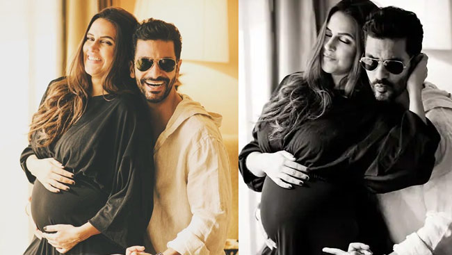 Angad Bedi confirmed Neha Dhupia's pregnancy and announced with adorable Post