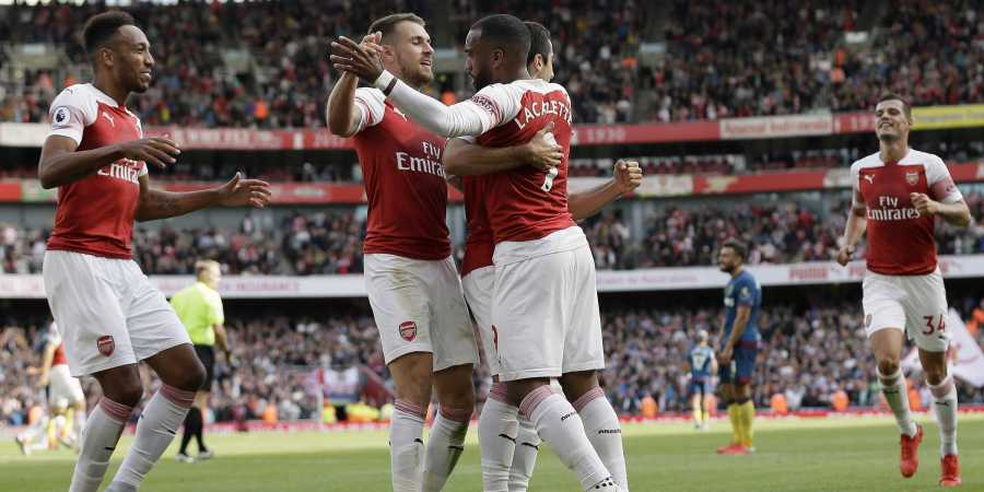 Arsenal beat West Ham by 3-1, get first win under Unai Emery
