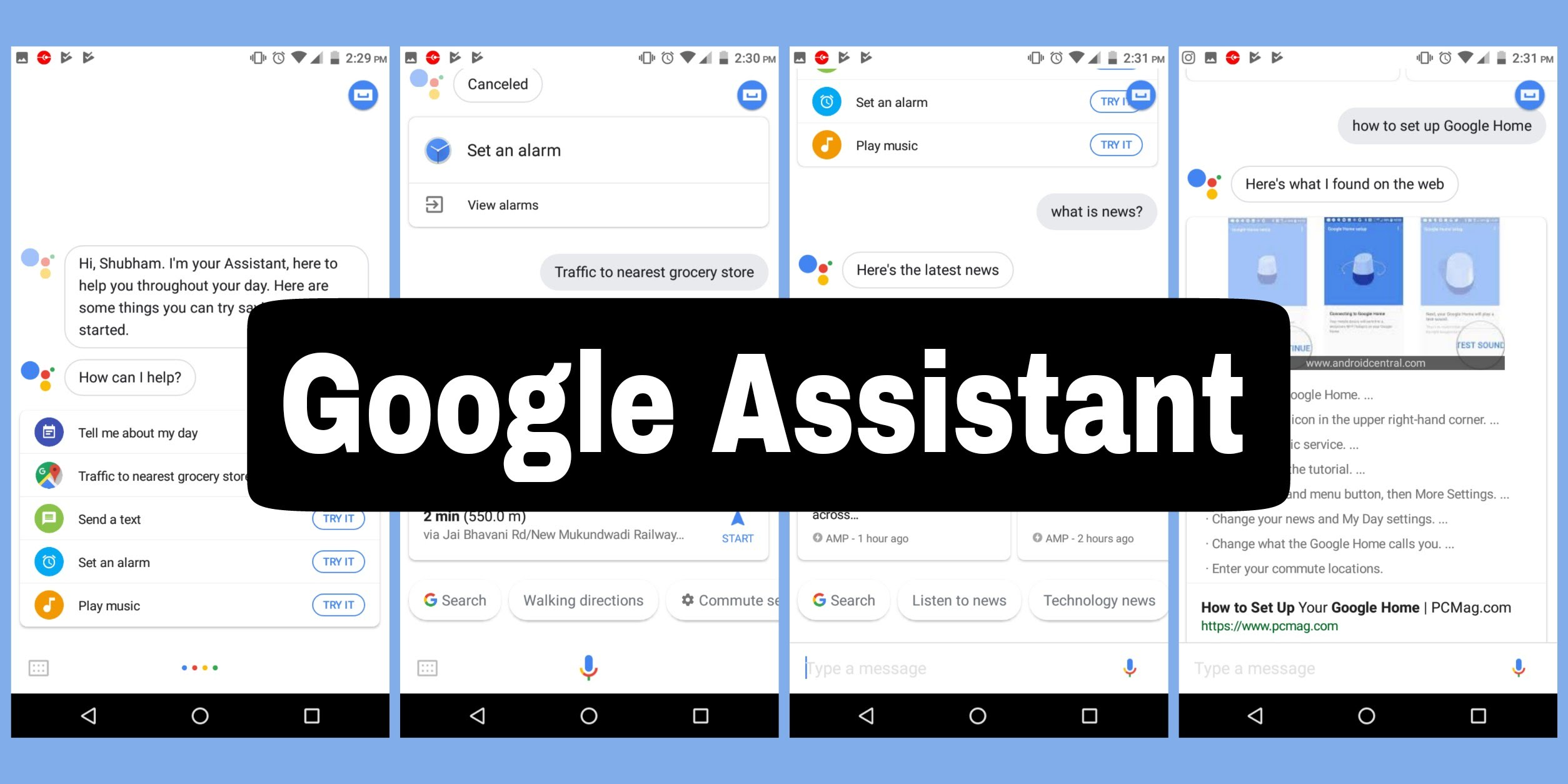 Google Assistant's Latest Feature , to now read Good news of the Day