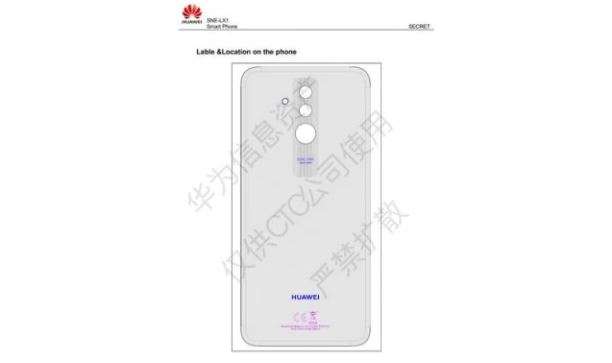 Huawei Mate 20 Lite Schematic Leaked details reveal dual rear Camera & Fingerprint Scanner