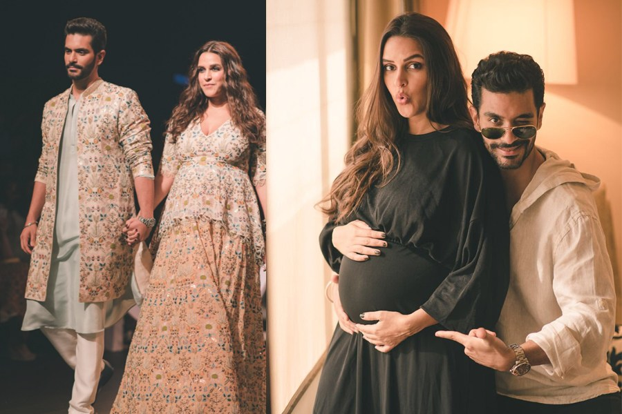 Neha Dhupia was frowned upon for not going pubic about pregnancy
