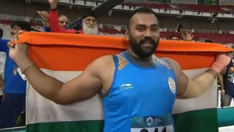 Tajinderpal Singh Toor won Gold medal in Men's shot put