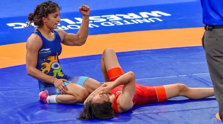 Vinesh Phogat won a Gold Medal