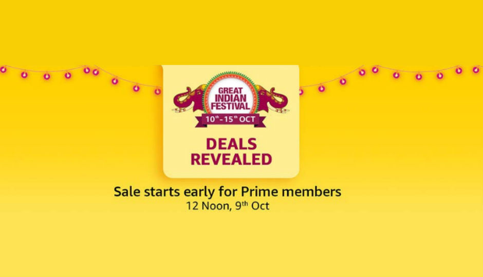 Amazon Great Indian Festival Sale: here is offers in Smartphone