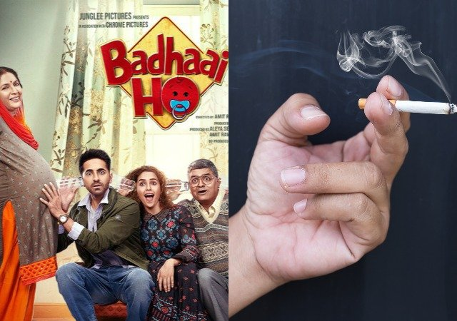Delhi Govt issue notice to Badhaai Ho makers for cut Smoking scenes