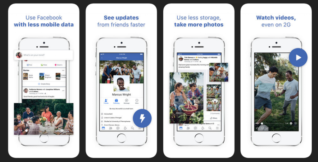 Facebook has launched Facebook Lite version for iPhone Users