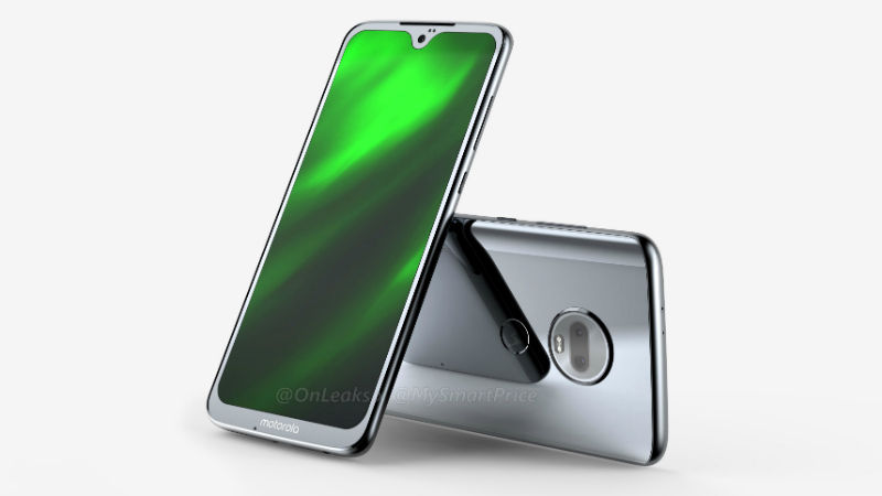 Motorola Moto G7 renders Waterdrop style Notch, Dual Cameras and glass back