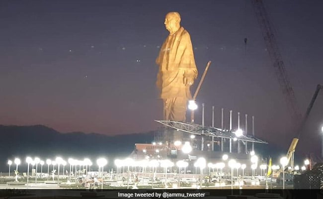 Shashi Tharoor question why no 182 metre statue for Mahatma Gandhi