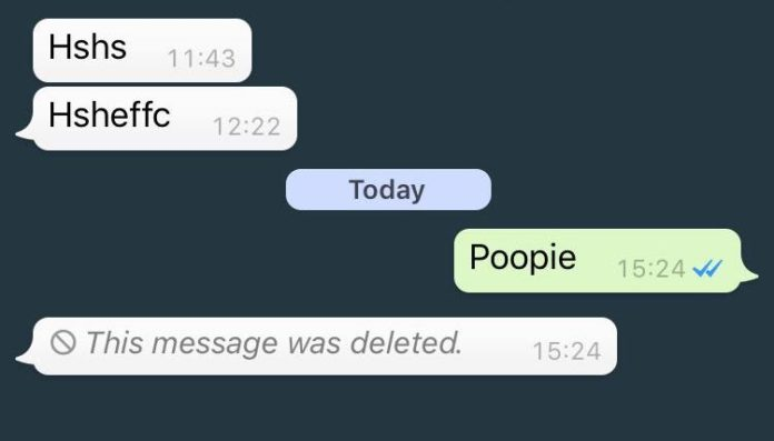 "WhatsApp ""Delete message for everyone"" feature updated with time limit"