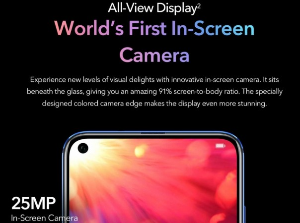 Honor View 20 with Kirin 980 Processor, Full Specification: Will be Amazon Exclusive