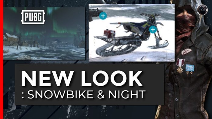 PUBG introduced Snowbikes and a Moonlit Night-Time Mode: Here is the details