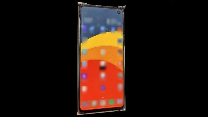 Samsung Galaxy S10 Leaks shows Punch hole display, thin bezels, expected Specification