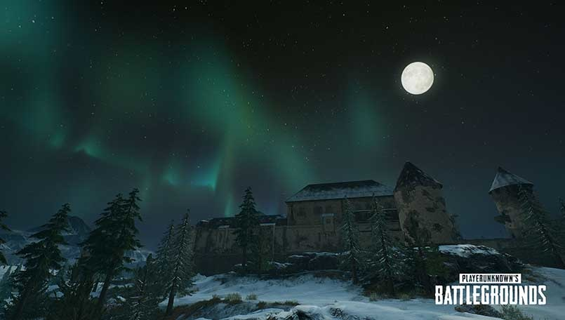 PUBG Update introduced Moonlight weather, Bizon SMG & Canted sight for Vikendi