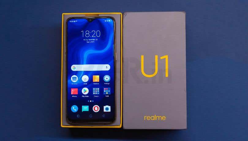 Realme U1 3GB RAM with 64GB storage Variant Now available in India