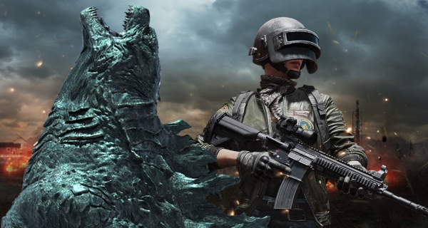 PUBG Mobile breaks new Ground with Godzilla: King of Monsters
