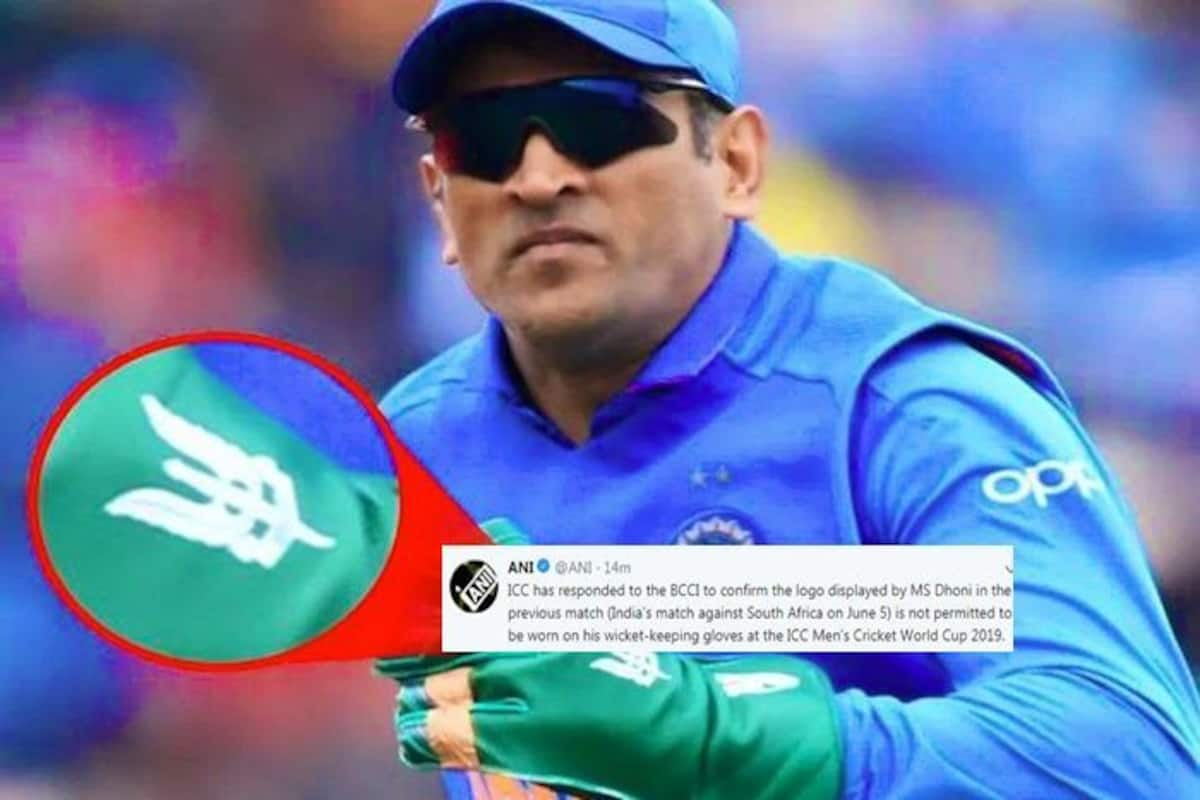 ICC tells BCCI, Can't allow Army insignia on Dhoni's gloves