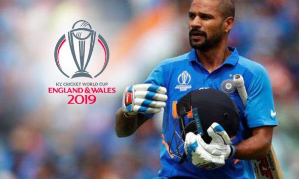 World Cup 2019 Update: Shikhar Dhawan ruled out to World cup, Rishabh Pant in as replacement