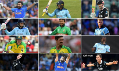 ICC announces official World Cup XI of the tournament