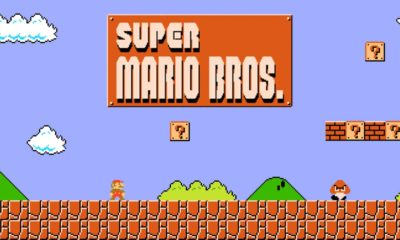 First level of Super Mario Bros. as first person shooter