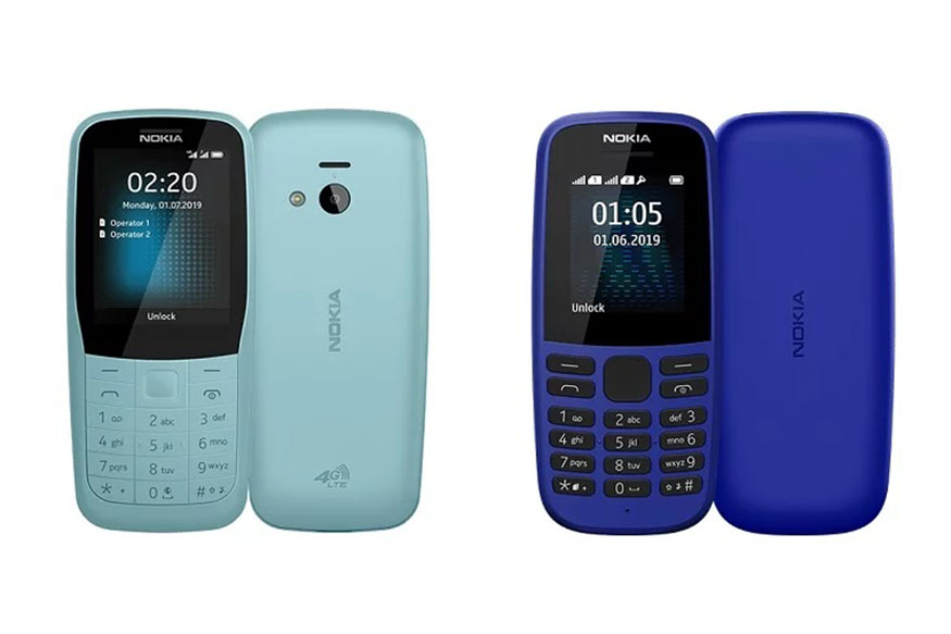 Nokia 105 (2019) Dual Sim with all-day battery life launched for Rs 1199