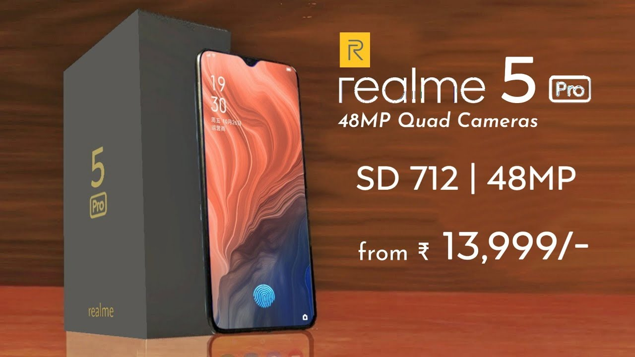 Realme 5 series with Snapdragon 710, Specs, Price & Release Date