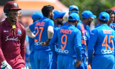 West Indies vs India 1st T20I: Navdeep Saini claimed 3 wickets on his T20 debut