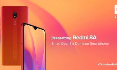 Redmi 8A with 5,000mAh Battery, Snapdragon 439 SoC; launched in India at Rs 6,499
