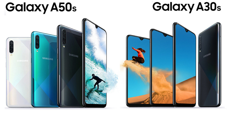Samsung Galaxy A50s and Galaxy A30s launched in India: Specification, Price