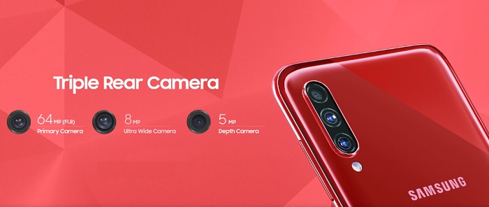 Samsung Galaxy A70s launched in India at Rs 28,999: Specifications, Offer