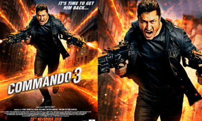 Commando 3 Full Movie Leaked Online Download By Tamilrockers