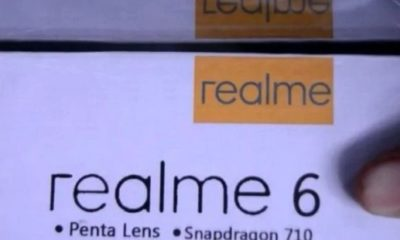 Realme 6 Live image and Price leaked; tipped to launch in 2020