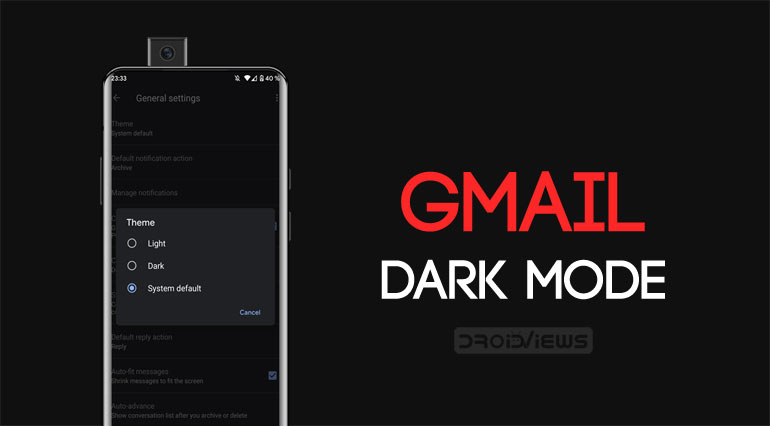 How to Enable Dark Mode in Gmail on iPhone and Android