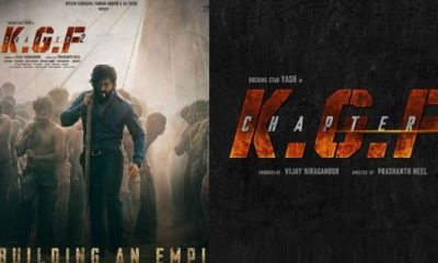 KGF Chapter 2 First Look Out: Yash is back as the ultimate saviour