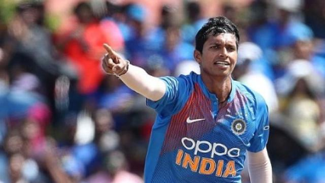 My goal is to be a part of India's T20 World Cup 2020 Squad: Navdeep Saini
