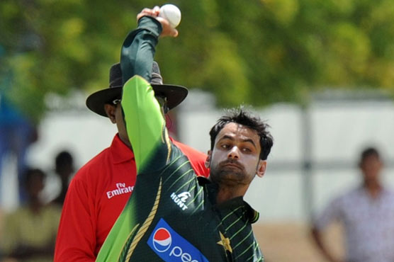 Pakistan's Mohammad Hafeez Suspended From Bowling In All ECB Tournaments