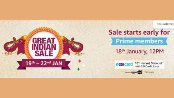 Amazon Great India Sale starts January 19: Here are all the Details