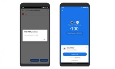 Google Pay Brings UPI Recharge Option for FASTag