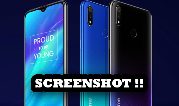 How to Take a Screenshot in Realme Device