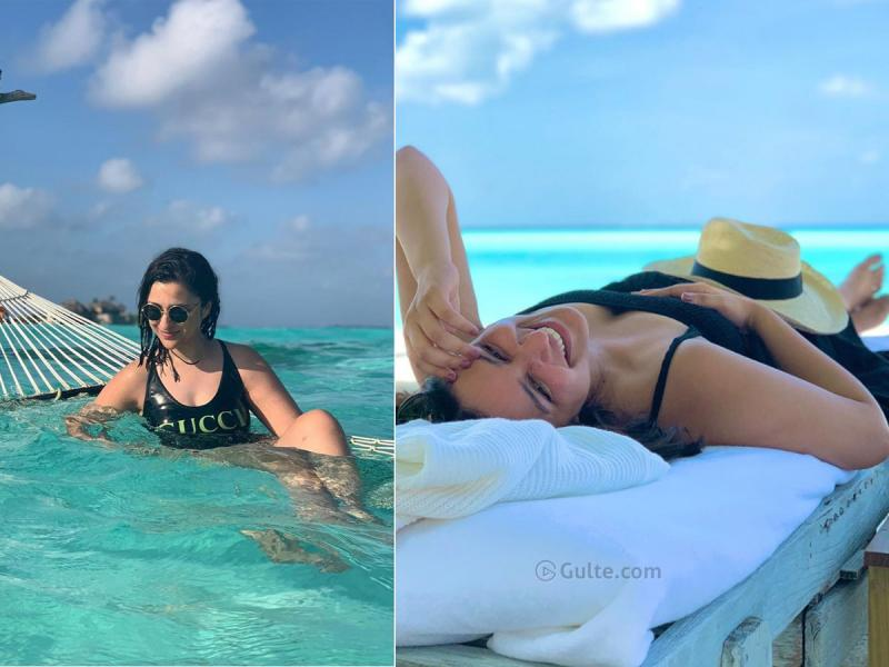 Parineeti Chopra Relaxes on her Maldives Holidays