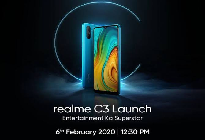 Realme C3, C3s confirmed to launch in India on February 6