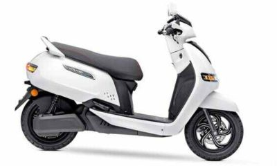TVS iQube Electric Scooter Launched in India: Check Details, Price & More