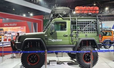 Auto Expo 2020: Force Gurkha BS6 Customised Unveiled