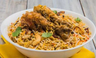 Chicken Biryani, Butter Chicken most searched Indian food globally