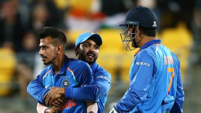 Harbhajan Singh suggests Leave out Kedar Jadhav and play Yuzvendra Chahal in 2nd ODI